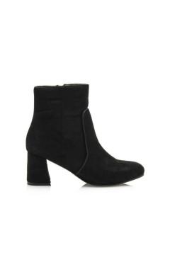 MARIAMARE 62318 Scarpe Donna Stivaletti Ankle Boot Tacco Medio Suede Nero STIVALETTI MM62318NER