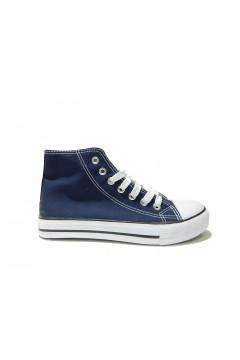 QUEEN HELENA X17-35 Scarpe Donna Sneakers Stringate Blu Francesine e Sneakers QHX1735BLU