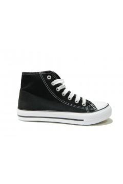 QUEEN HELENA X17-35 Scarpe Donna Sneakers Stringate Nero FRANCESINE E SNEAKERS QHX1735NE