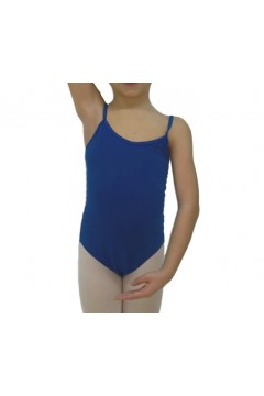 SANSHA 1555C Stacie Body Danza in Cotone e Lycra Blu Royal Body Danza S1555CBR