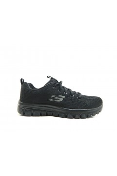SKECHERS 12615 Scarpe Donna Sneakers Memory Foam Nero Francesine e Sneakers 12615BBK