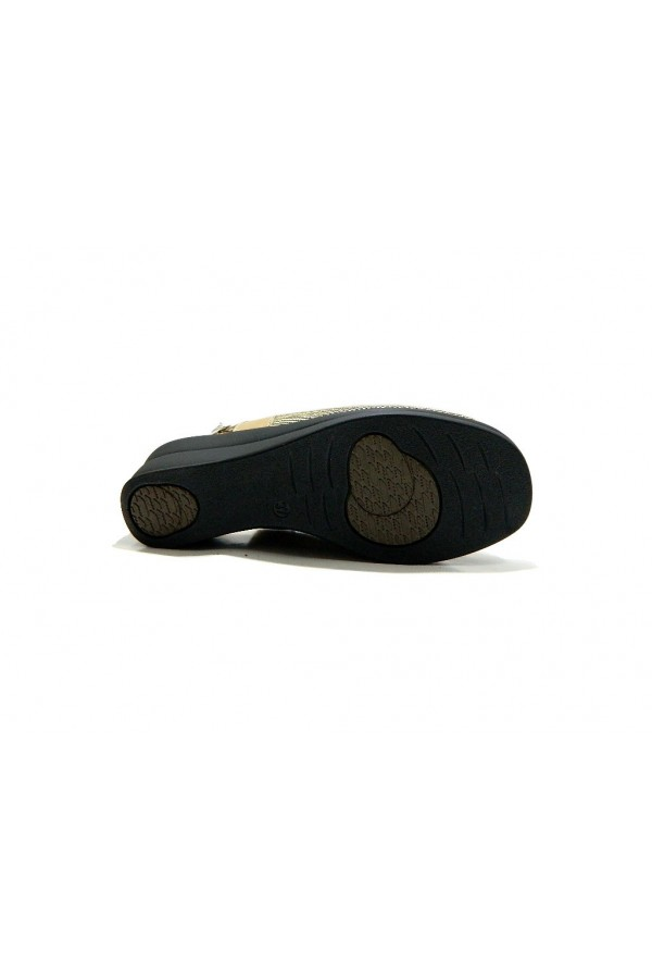 STILE DI VITA 8113 Scarpe Donna Sandali Comfort Elasticizzati Nero Sandali S8113NER