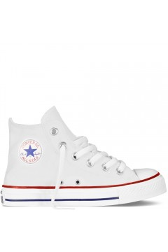 Converse 3J253C Scarpe Bambini Unisex Sneakers Mid Canvas Bianco BAMBINA 3J253CBIA