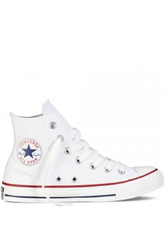 Converse M7650C All Star Classic Sneakers Mid Canvas Bianco Scarpe Sport M7650CBIA