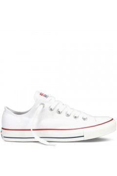 Converse M7652C Chuck Taylor All Star Classic Sneakers Low Canvas Bianco Francesine e Sneakers M7652C