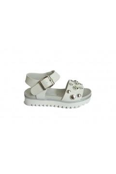 Canguro C60258 Scarpe Bambina Sandali Platform Bianco Scarpe Bambina C60258BIA