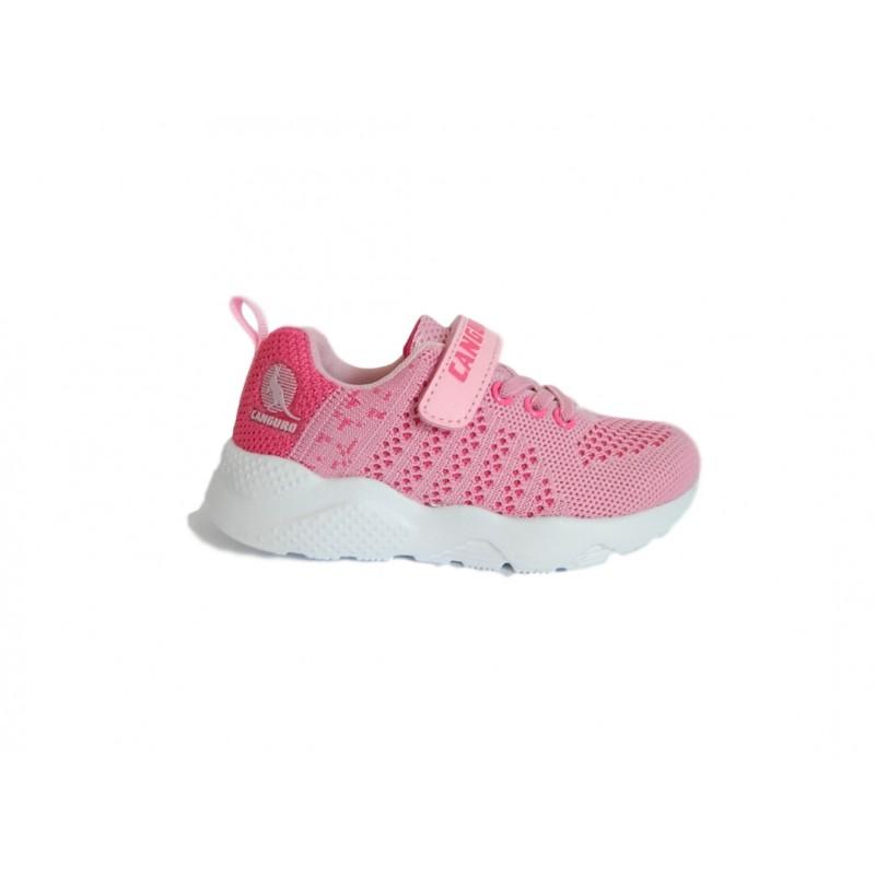 Adidas scarpe ginnastica casual Bambina lacci fuxia rosa