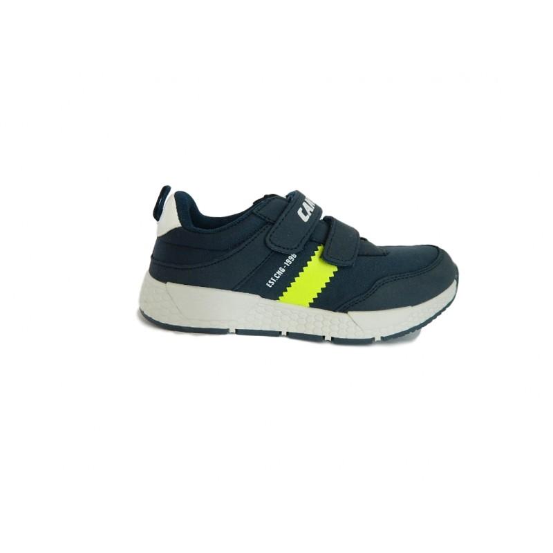 Canguro C60200 Scarpe Bambino Sneakers con Strappi Blu
