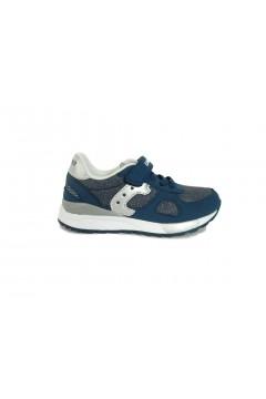 Canguro C60216 Scarpe Bambino Sneakers con Strappo e Lacci Elastici Jeans BAMBINO C60126JEA