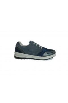Grisport PRIME 43327 Scarpe Uomo Sneakers Stringate Nabuck Mesh Blu Sneakers 43327T2ABLU