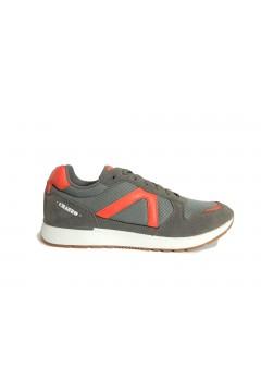 El Charro A1129 Scarpe Uomo Sneakers Stringate Grigio Sneakers A1129GRI