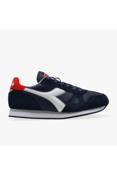 Diadora Simple Run Scarpe Uomo Sneakers Running Camoscio Nylon Ombre Blue SPORT SIMPLERUNOBL
