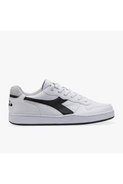 Diadora Playground Scarpe Uomo Sneakers Low Bianco Nero SPORT PLAYGBNR