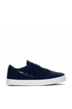 Nike SB Check CNVS ESS+ Scarpe Unisex Sneakers Skate in Tela Blu FRANCESINE E SNEAKERS AV3135400