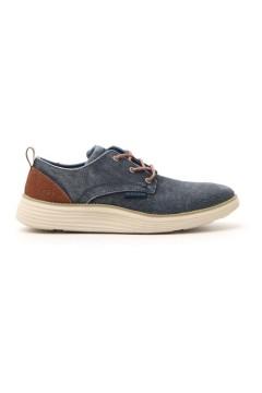 Skechers 65910 Scarpe Uomo Sneakers Stringate Jeans Blu Sneakers 65910NVY