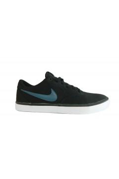 Nike SB Check Solar CNVS Scarpe Uomo Sneakers Skate in Tela Nero SPORT 843896017