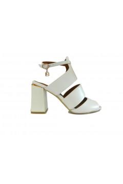 Laura Biagiotti 5305 Sandali Donna Tacco Alto con Bracciale Bianco Sandali LB5305BIA