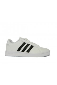 Adidas EF0103 Grand Court K Scarpe Ginnastica Tennis White Black Francesine e Sneakers EF0103
