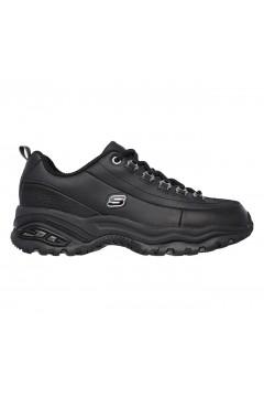 SKECHERS 1728 Premium Scarpe Donna Sneakers Memory Foam Nero Francesine e Sneakers 1728BBK