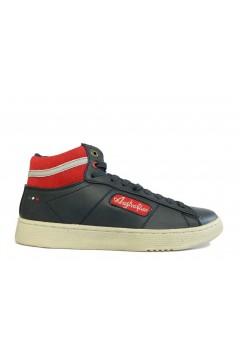 Australian AU599 Scarpe Uomo Sneakers Mid Stringate Blu Sneakers AU599BLU