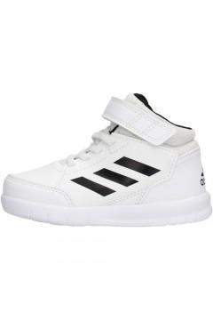 Adidas G27125 AltaSport Mid I Scarpe Ginnastica Running Alte White Black BAMBINO G27125