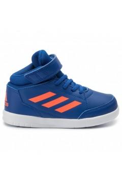Adidas G27127 AltaSport Mid I Scarpe Ginnastica Running Alte Blu Orange BAMBINO G27127