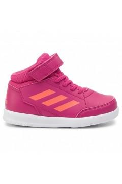 Adidas G27128 AltaSport Mid I Scarpe Ginnastica Running Alte Fuxia Orange Scarpe Bambina G27128