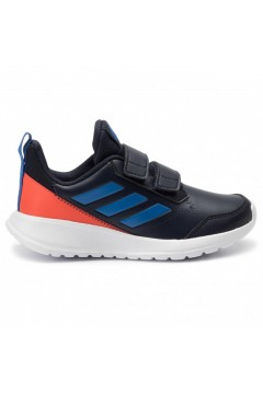 Adidas scarpe Bambino ginnastica running stappi tessuto blu