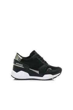 MARIAMARE 62469 Scarpe Donna Sneakers Stringate Memory Foam Nero Francesine e Sneakers MM62469NR