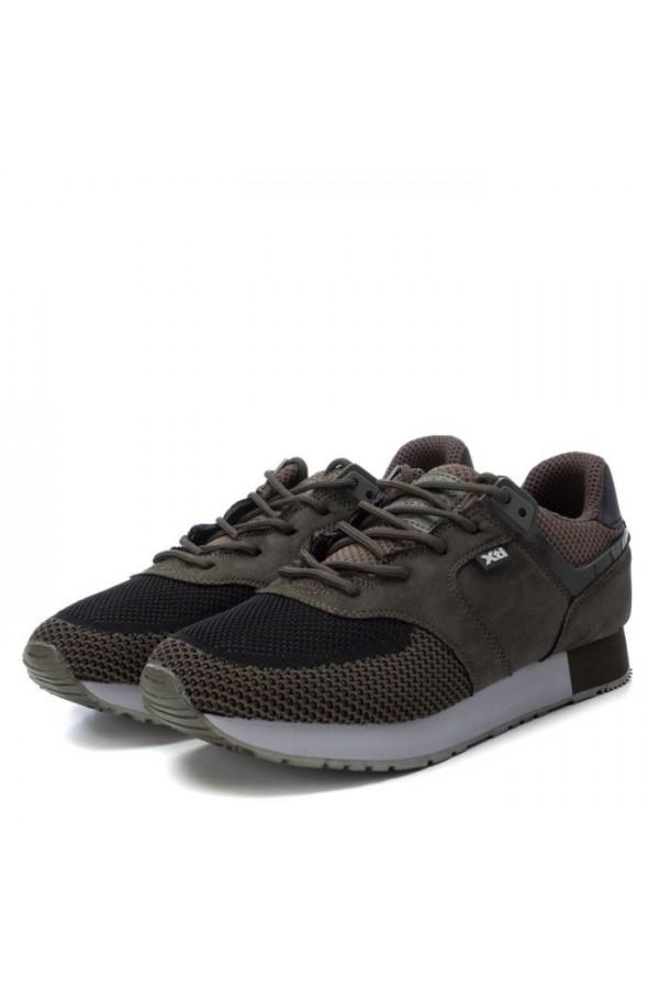 Xti 49199 Scarpe Uomo Sneakers Stringate Verde Sneakers X49199VR