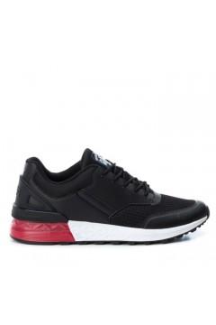 Xti 49214 Scarpe Uomo Sneakers Stringate con Memory Foam Nero Sneakers X49214NR