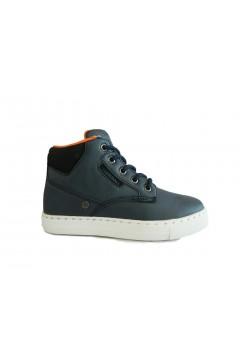 Lumberjack King SB64601 Scarpe Bambino Sneakers Mid Lazzi e Zip Blu BAMBINO SB64601001BLU
