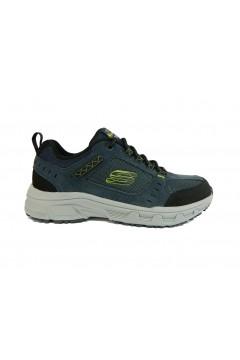 SKECHERS 51893 Oak Canyon Scarpe Uomo Sneakers Stringate Blu SPORT 51893NVLM