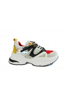 Queen Helena X21-92 Scarpe Donna Sneakers Platform Rosso Multicolor FRANCESINE E SNEAKERS X2192ROS