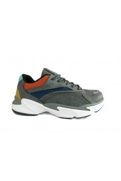 Enrico Coveri 925100 E Connection Sneakers Uomo Stringate Grigio Sneakers EC925100BR