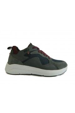 Enrico Coveri 923790 Decatur Nkb Sd Sneakers Uomo Stringate Grigio Multicolor Sneakers EC923790BR