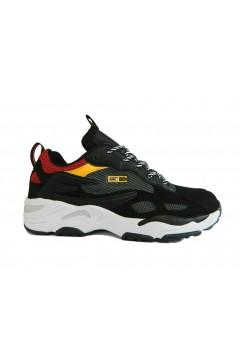 Enrico Coveri 925107 Bologna Sneakers Uomo Stringate Nero Multicolor Sneakers EC925107NR