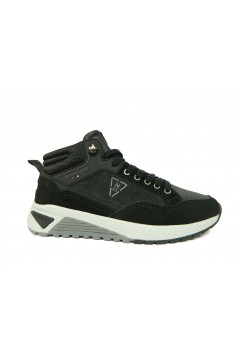 Navigare 925015 Scarpe Uomo Sneakers Alte Memory Foam Nero Sneakers 925015NR