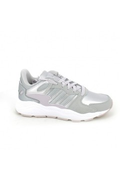 Adidas EF7224 Crazychaos J Scarpe Ginnastica Running Argento Rosa Francesine e Sneakers EF7224