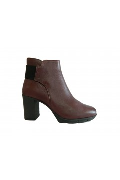 The Flexx D7013 23 Out N About Scarpe Donna Stivaletti Tacco Alto in Vera Pelle Bordeaux STIVALETTI D701323CHIA