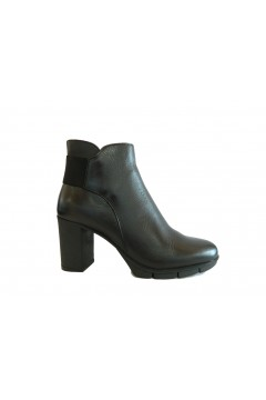 The Flexx D7013 23 Out N About Scarpe Donna Stivaletti Tacco Alto in Vera Pelle Nero STIVALETTI D701323NR