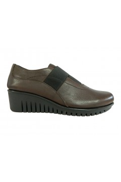The Flexx E4019 11 Gibbous Scarpe Donna Mocassini Slip On in Vera Pelle Testa di Moro FRANCESINE E SNEAKERS E401911TDM