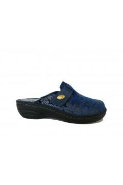 PLANTAS F736-31 Diaz Ciabatte Pantofole con Plantare Estraibile Elasticizzato Blu Ciabatte e Infradito F73631