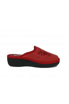 PLANTAS D649-51 Daria Ciabatte Pantofole Donna Soft Rosso Ciabatte e Infradito D64951