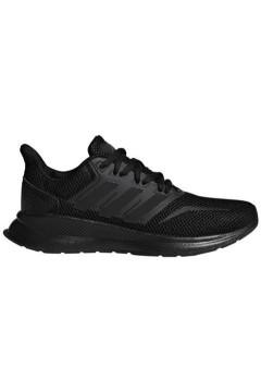 Adidas F36549 Runfalcon K Scarpe da Ginnastica Running Total Black FRANCESINE E SNEAKERS F36549