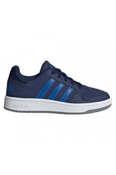Adidas EE8999 HOOPS 2.0 K Scarpe Ginnastica Basket Blu FRANCESINE E SNEAKERS EE8999