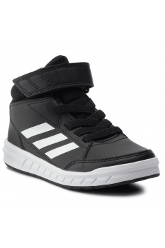 Adidas G27113 AltaSport Mid K Scarpe Ginnastica Running Alte Black White FRANCESINE E SNEAKERS G27113