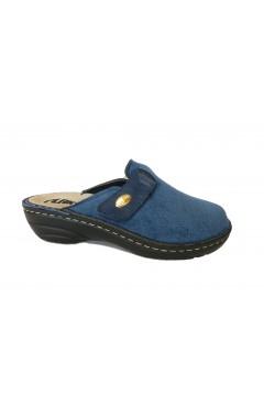 PLANTAS F822-41 Flaminia Ciabatte Pantofole con Plantare Estraibile Blu Ciabatte e Infradito F82241