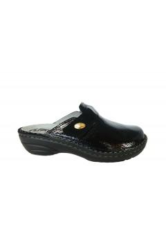 PLANTAS F831-10 Fiammetta Pantofole Sabot Donna con Plantare Estraibile Nero Ciabatte e Infradito F83110