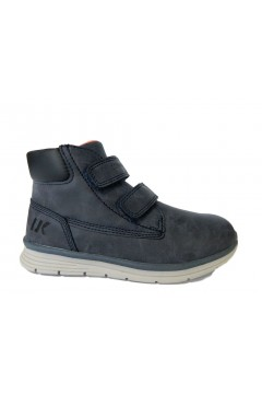 Lumberjack Alvis SB65001 002 Scarpe Bambino Sneakers Mid con Strappi Blu BAMBINO SB65001002BLU